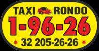 taxi naklejka boczna