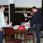 Zapisy,odbiory....wolontariusze i pracownicy: Dorota Adamczyk i Wojciech Boruszka